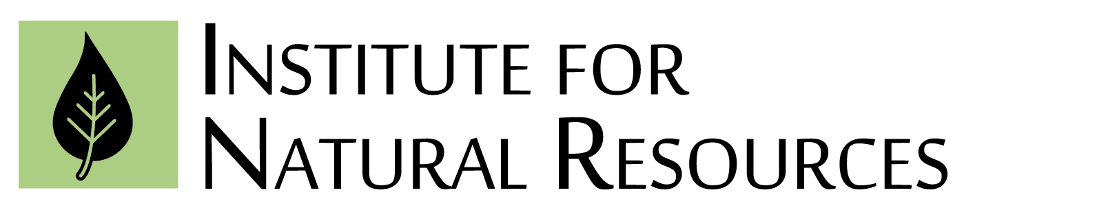 Institute for Natural Resources